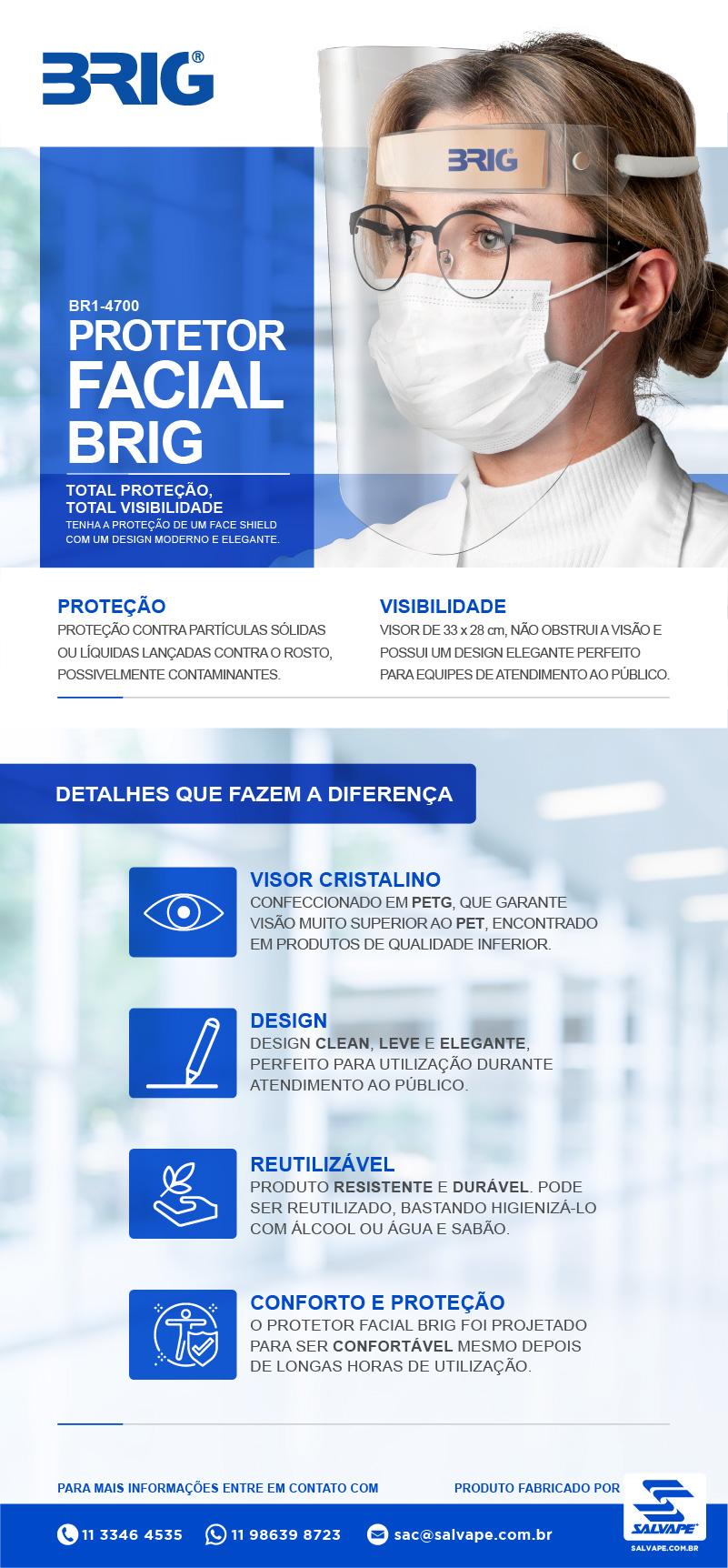 Protetor Facial Brig